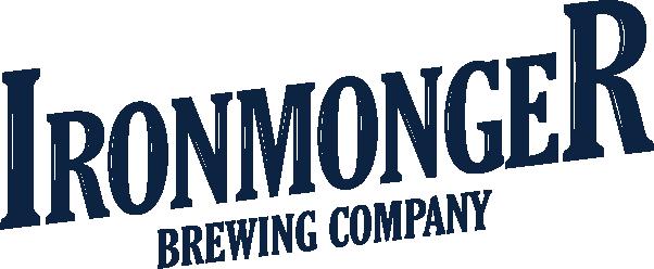 Ironmonger_Slant_Logo_1C white navy - Val Bippert